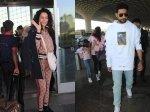 Kangana Ranaut Casual Cool Airport Look Aishwarya Rai Aaradhya Abhishek Bachchan Spotted At Airport