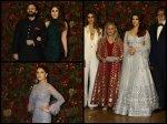 Deepika Ranveer Reception Aishwarya Rai Bachchan Kareena Kapoor Anushka Sharma Spotted Pics