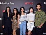 Janhvi Khushi Shanaya Sanya Fatima Others Attend Netflix Series Selection Day Screening