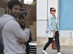Celebs Shahid Kapoor Spotted Bike Ride Parineeti Chopra Smiles Waves Cameras Others Snapped
