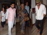 Mukesh Ambani Aishwarya Rai Waheeda Rehman Others Attend Late Nana Chudasama Prayer Service