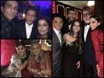 Inside Pics Video From Deepika Ranveer Reception Shahrukh Khan Caught Dancing Big B Malaika Arora