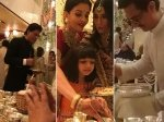 Shahrukh Khan Aamir Khan Aishwarya Rai Bachchan Serve Food To Guests At Isha Ambani Wedding