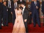 Priyanka Chopra Nick Jonas Attend Isha Ambani Anand Piramal Wedding