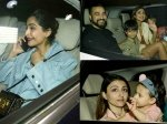 Rani Mukerji S Daughter Adira Turns 3 Sonam Kapoor Kajol Shilpa Shetty Attend The Bash