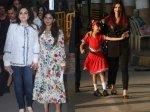 Isha Ambani Attends Ambani School Annual Day Aishwarya Bachchan Takes Aaradhya To School