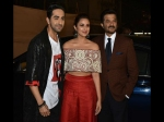 Ayushmann Khurrana Parineeti Chopra Anil Kapoor Pose For Pictures Umang Awards