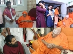 Breaking Shivakumara Swamiji Passes Away Unseen Pictures Kannada Actors With Nadedaduva Devaru