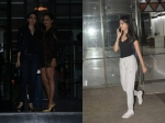Karishma Kapoor Amrita Arora All Decked Up Head To Club Navya Naveli Spotted In Casual Avatar