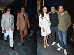 Amitabh Bachchan Dia Mirza Farhan Akhtar Others At Boman Irani Production House Launch