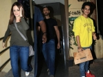 Pictures Hrithik Roshan Sussanne Take Kids Out For Movie Ishaan Khattar Snapped At Cafe