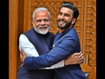 Ranveer Singh Jadoo Ki Jhappi Pm Modi All Things Adorable