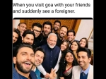 Narendra Modi Selfie With The Bollywood Brigade Ends Up Being Trolled On Twitter