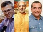 Pm Narendra Modi Paresh Rawal Omar Abdullah Take A Dig At Vivek Oberoi