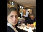 Neetu Kapoor Post From A Lunch Date With Rishi Kapoor Will Not Leave Him Pleased
