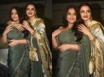 Vidya Balan Almost Suffers A Wardrobe Malfunction All Thanks To Rekha