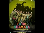 Total Dhamaal First Poster Ajay Anil Madhuri Arshad Get Ready For The Wildest Adventure Ever