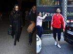 Deepika Padukone Boss In Black Airport Look Kartik Aaryan Looks Hot Gym Look