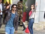 Alia Bhatt Varun Dhawan Grab Eyeballs At Airport Leave For Next Schedule Of Kalank