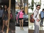 Pictures Sara Ali Khan Janhvi Kapoor Hit The Gym Mira Rajput Drops Shahid Kapoor Airport