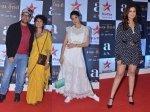 Aamir Khan Kiran Rao Jacqueline Fernandez Parineeti Chopra Others At Rubaru Roshni Screening