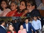 Amitabh Jaya Bachchan Anil Ambani Attend Kokilaben Hospital Decade Of Distinction Event