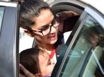 Sunny Leone Snapped With Hubby Daniel Weber And Their Kids
