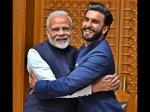 Ranveer Singh Jadoo Ki Jhappi Pm Modi All Things Adorable
