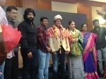 Puneeth Rajkumar Graces Ntr Kathanayakudu Press Meet Yash Has A Request For Vidya Balan