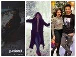 Heres How Divyanka Vivek Kapil Nakuul Surbhi Jennifer Winget Krystle Others Welcomed New Year