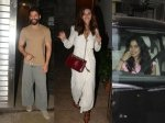 Shibani Dandekar All Dressed Up For Boyfriend Farhan Akhtar Birthday Party Janhvi Kapoor Spotted