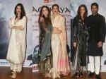 Aishwarya Rai Rekha Farhan Shibani Other Celebs Attend Kaifi Azmi Centenary Event Raag Shayari