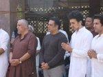 Govinda Family Pay Last Respects Nephew Janmendra Ahuja At Funeral