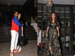 Deepika Padukone Ranveer Singh Head Out Birthday Girl Amrita Arora Parties With Friends