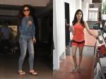 Kareena Kapoor Steps Out In Casual Avatar Janhvi Kapoor Saturday Gym Look