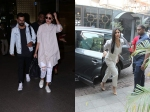 Anushka Sharma Virat Kohli Return Mumbai Katrina Kaif Spotted Popular Restaurant