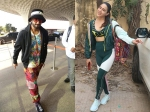 Ranveer Singh's Colorful Outfit At Airport Makes Heads Turn; Sara Ali Khan's Cute Sunday Gym Look