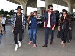 Ayushmann Khurrana Snapped At Airport With Mother Hardik Pandya Also Spotted At Airport