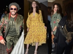 Alia Bhatt Ranveer Singh Shweta Nanda Bachchan Others Attend Gully Boy Screening