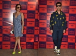 Malaika Arora Karan Johar Stylish Entries At An Event Made Heads Turn