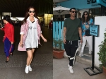 Arjun Rampal Girlfriend Gabriella Snapped Out And About In City Kriti Sanon Spotted Airport