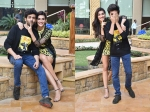 Luka Chuppi Stars Kriti Sanon And Kartik Aaryan Have fun During Promotions: See Pictures