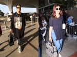 See Pics! Karan Johar Sports A Sleek Airport Look; Parineeti Chopra Also Snapped At The Airport