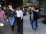 Kangana Ranaut Airport Bipasha Basu Karan Singh Grover Cant Keep Hands Off Each Other