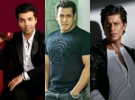 Shahrukh Khan Salman Khan To Appear In Koffee With Karan Season 6 Final Episode