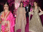 Rekha Sonakshi Sinha Elli Avram Make Heads Turn Azhar Morani Wedding