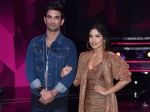 Bhumi Pednekar Sushant Singh Rajput Promote Sonchiriya On The Sets Of Super Dancer