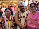 Girish Kasaravalli's Daughter Ananya Get Married; Bharthi Vishnuvardhan Graces The Newly-wed Couple