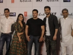 Pictures! Salman Khan Launches Notebook Trailer With Newbies Zaheer Iqbal And Pranutan Bahl