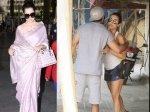 Kangana Ranaut Royal Airport Look Shahid Kapoor Malaika Arora Cross Paths Gym